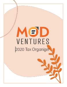 MOD Ventures tax organizer cover