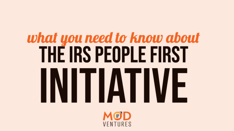 IRS People First Initiative