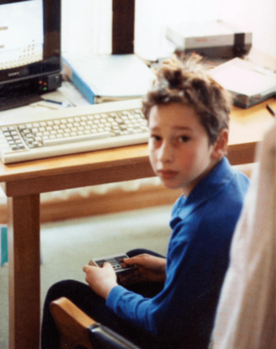 Shane as a kid
