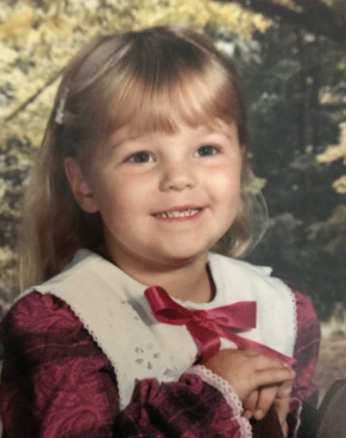 Ashley as a kid