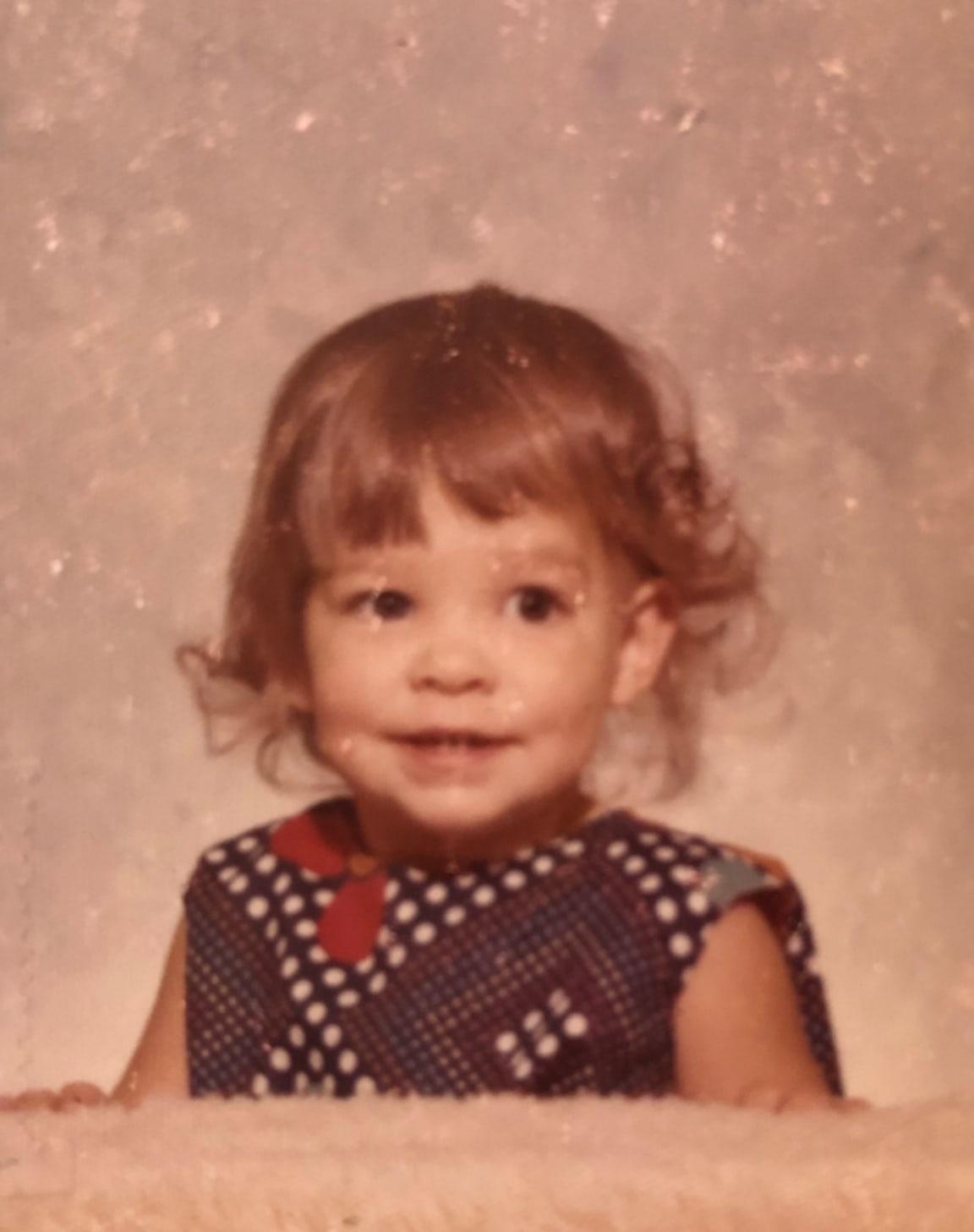 Aimee as a kid