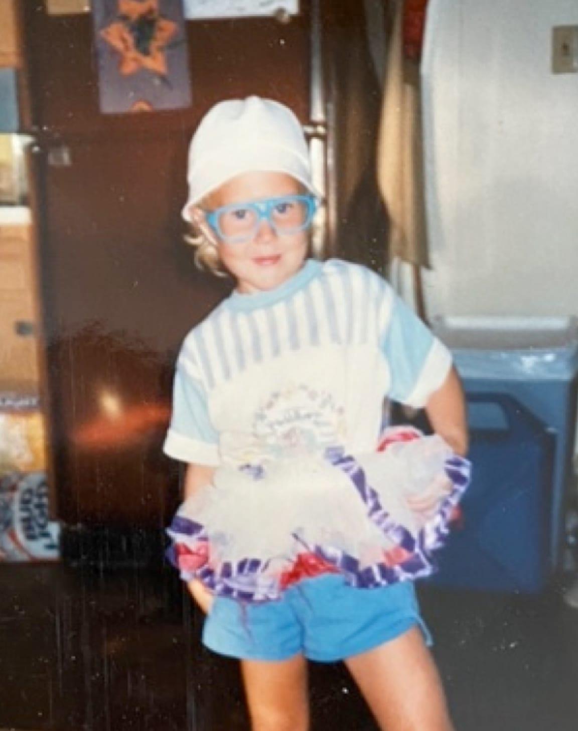 Jamie as a kid