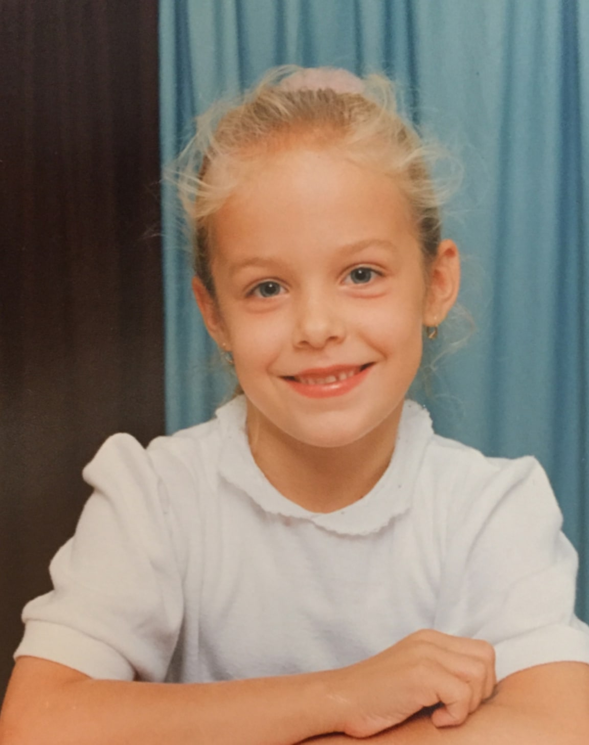 Petra as a kid.
