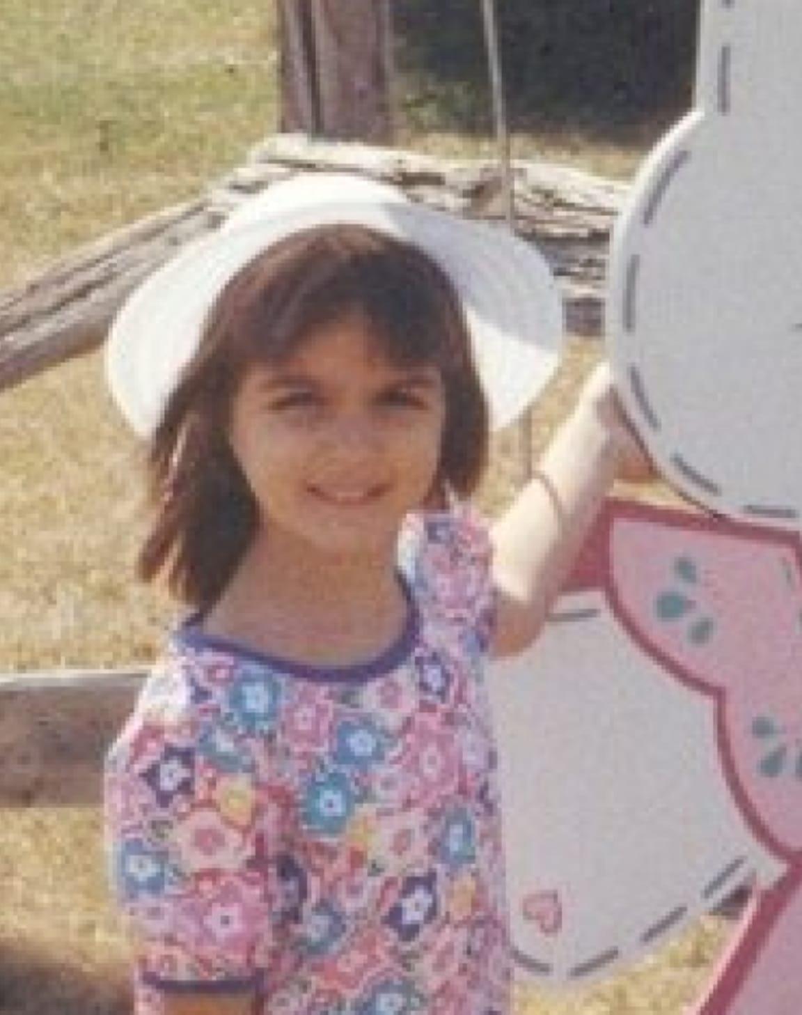 Miranda as a kid