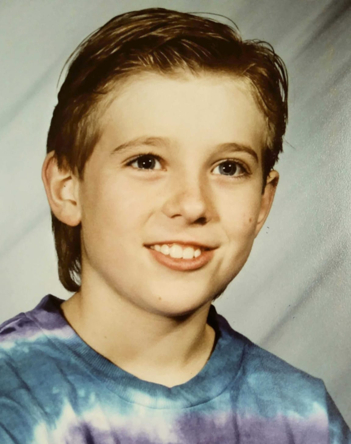 Andrew as a kid