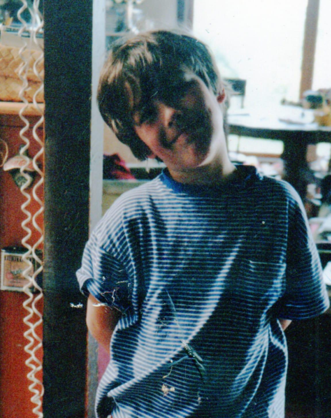 Rob as a kid