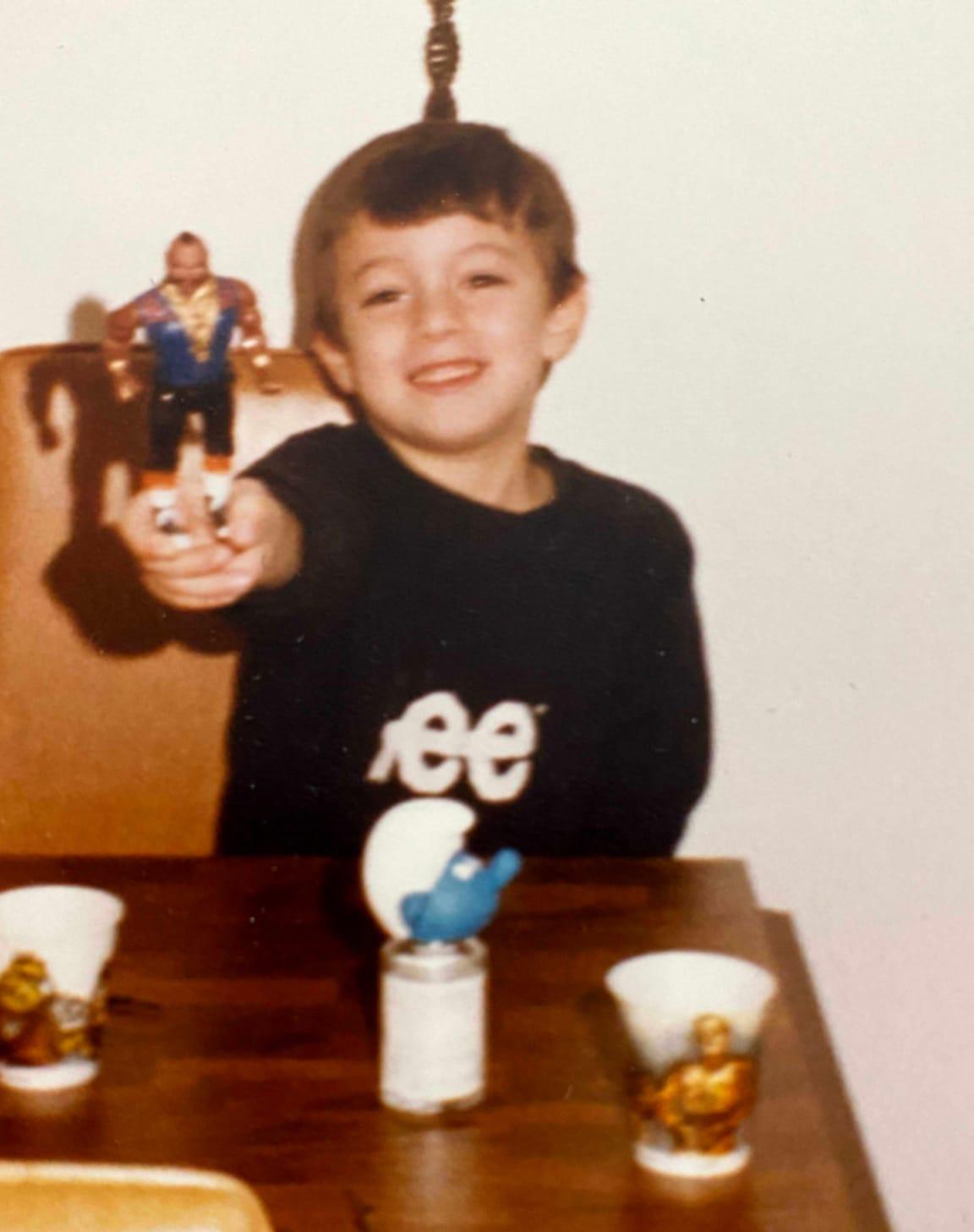 Vinny as a kid