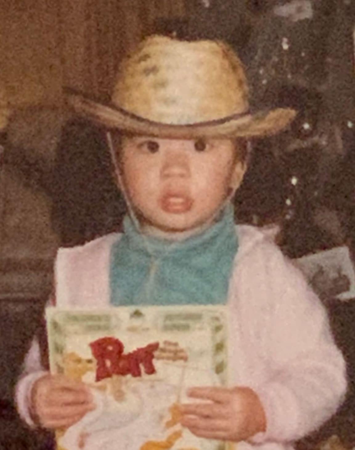 Paul as a kid