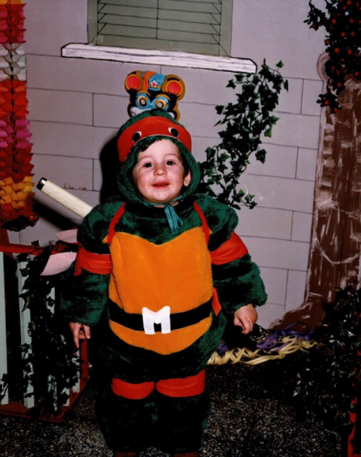 Antonio as a kid