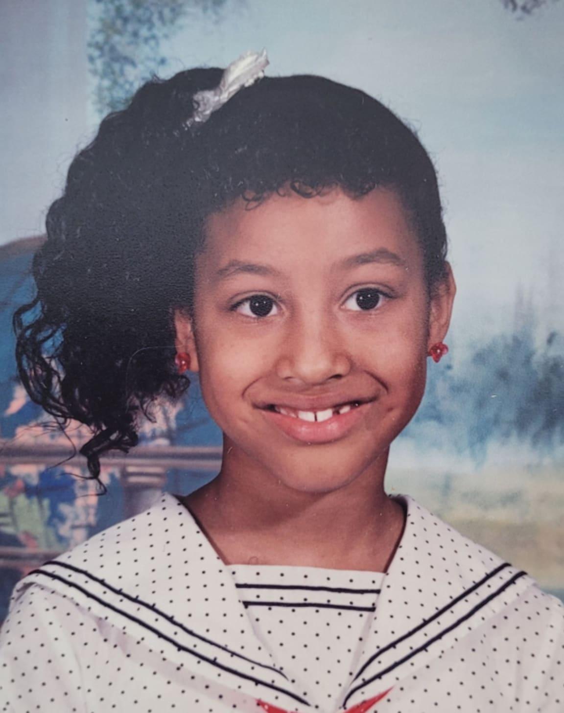Melanie as a kid