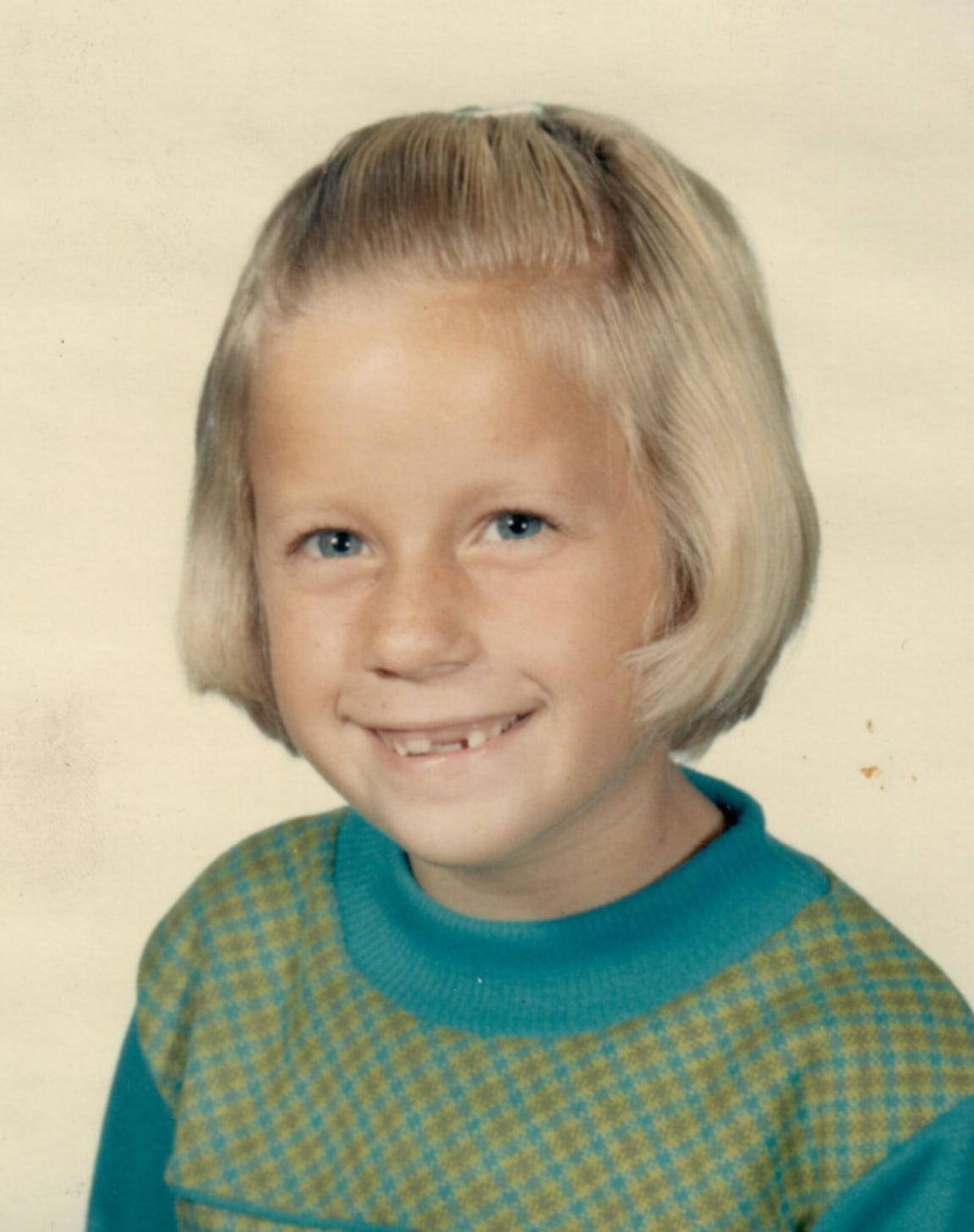Susan as a kid