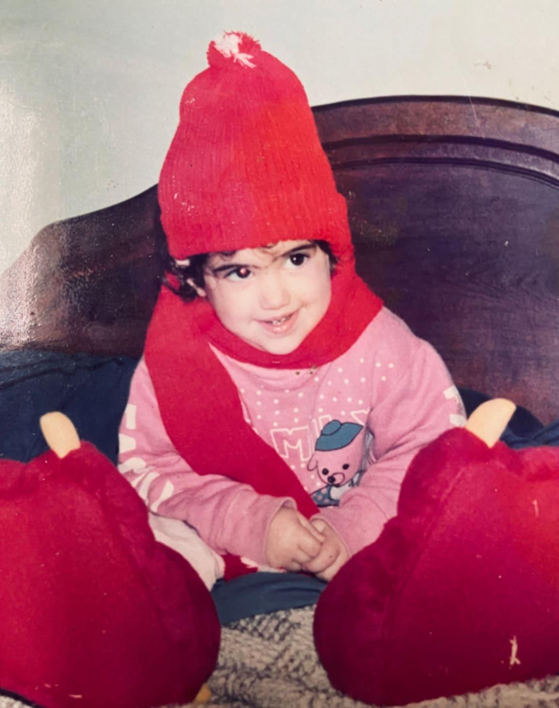 Belen as a kid