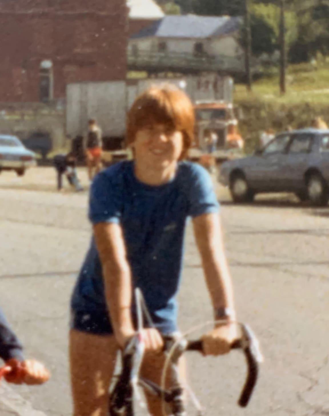 Julian Wood as a kid