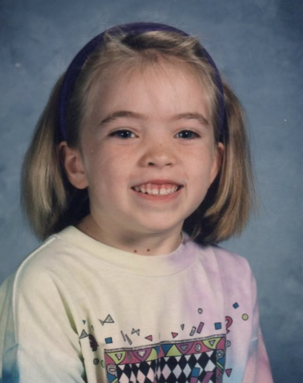 Lindsey as a kid