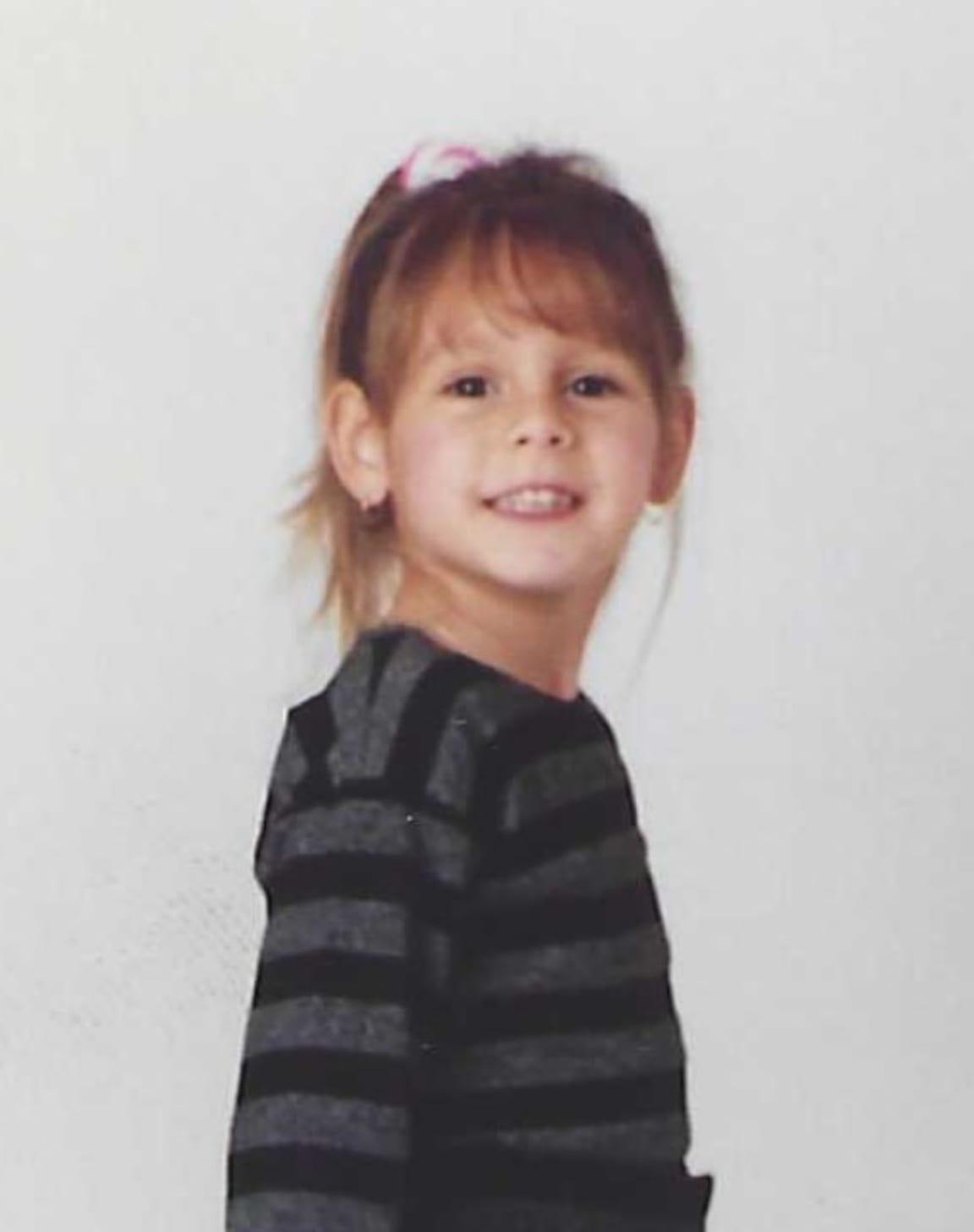 Lindsay as a kid