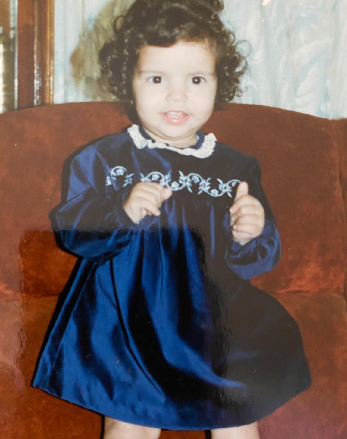 Alia as a kid