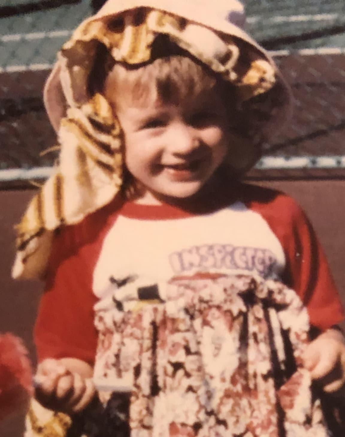 Matt as a kid