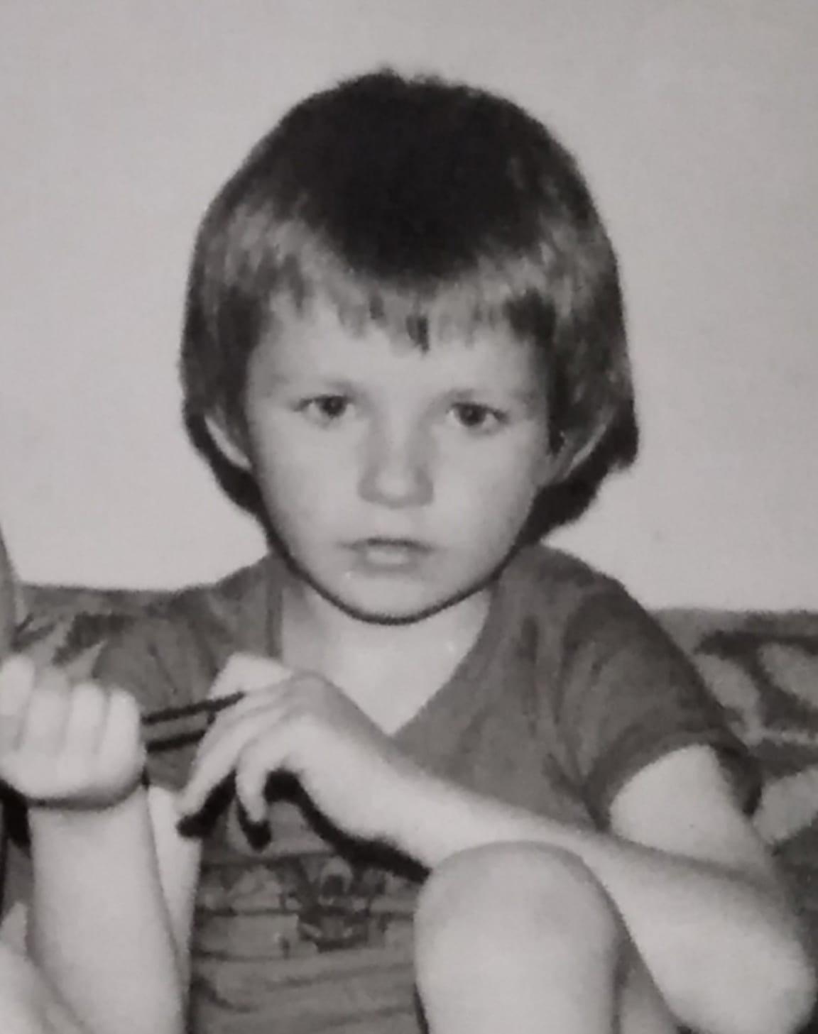 Vladen as a kid