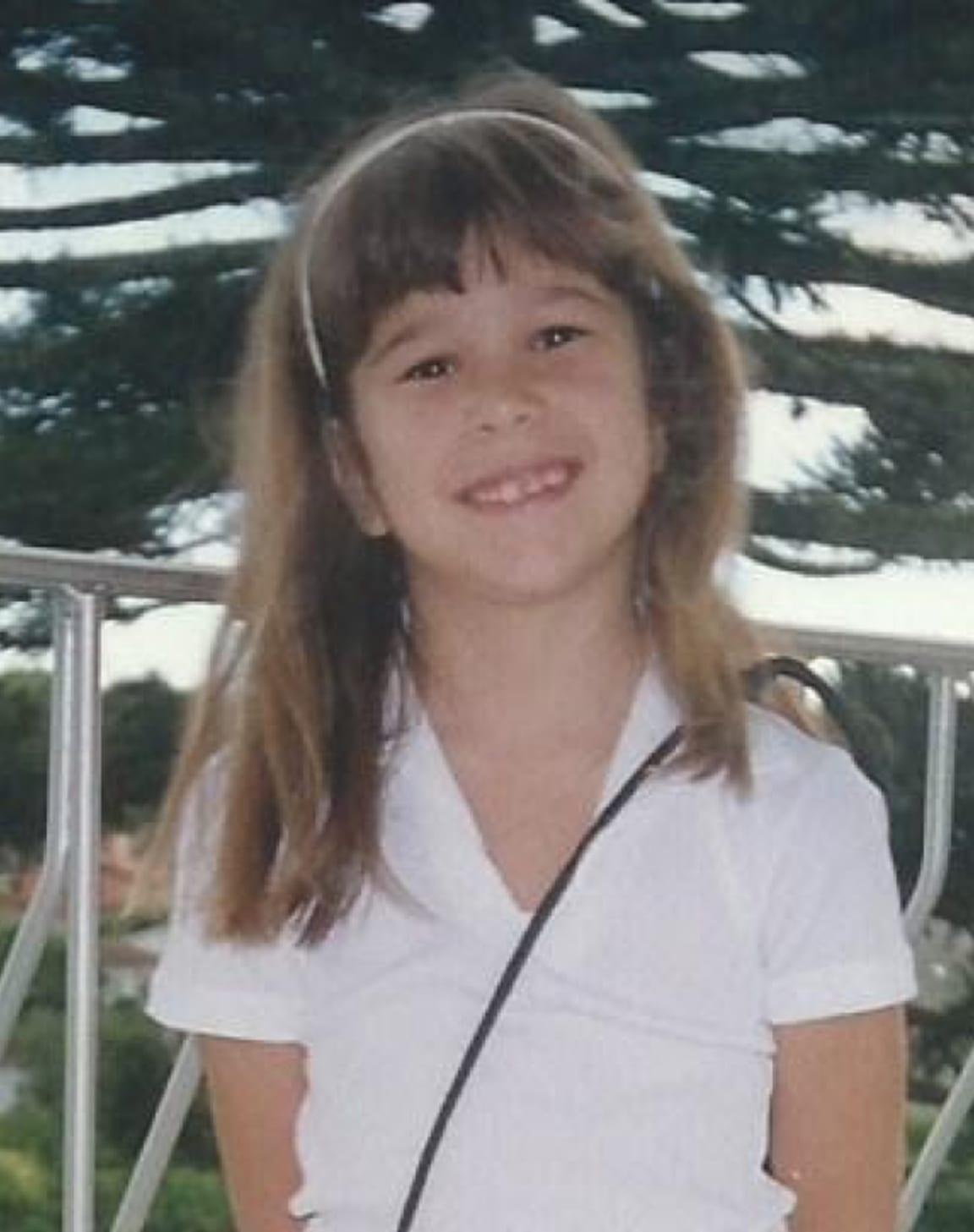 Maria as a kid