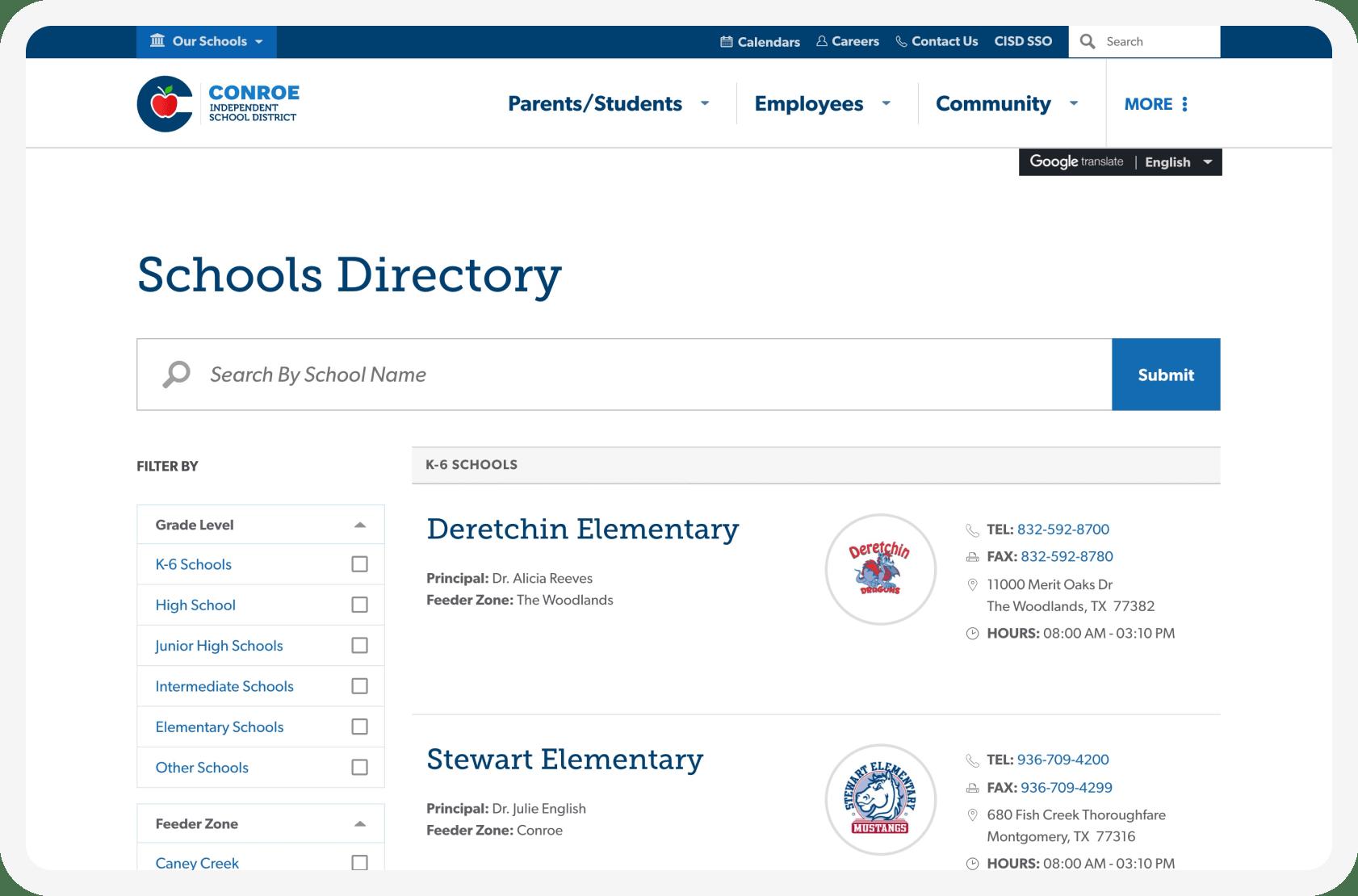 Conroe directory
