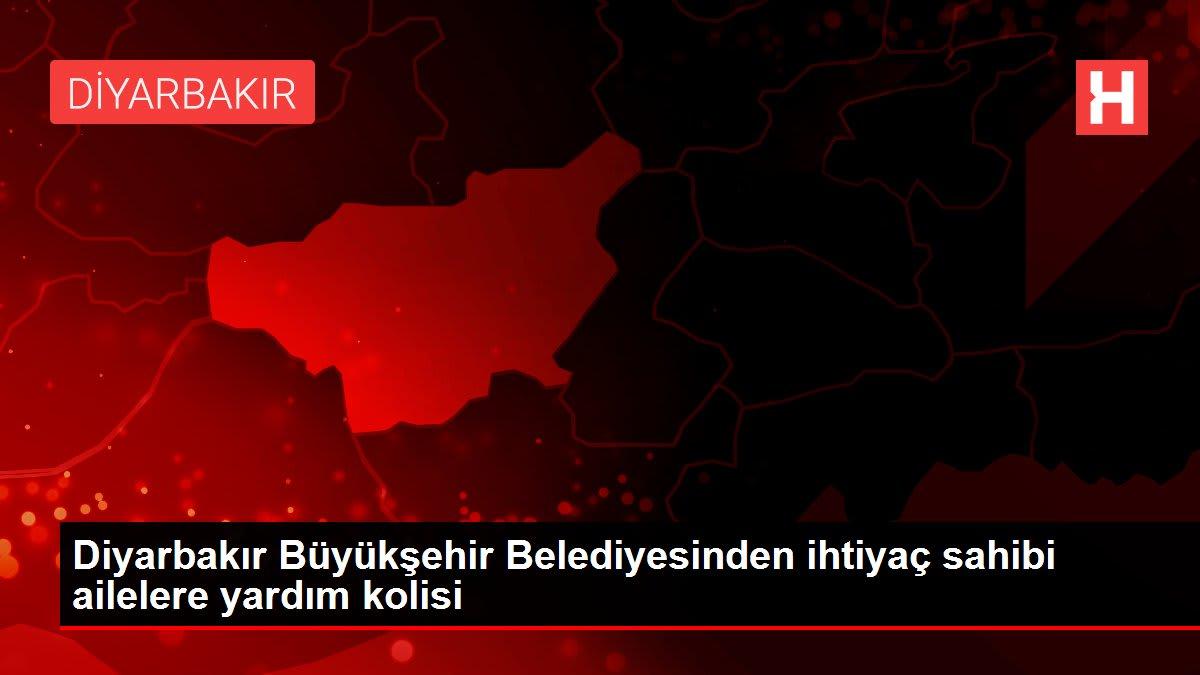 Diyarbakır Büyükşehir Belediyesinden ihtiyaç sahibi ailelere yardım kolisi