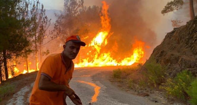 Ormanın yangın savaşçıları 7/24 tetikte