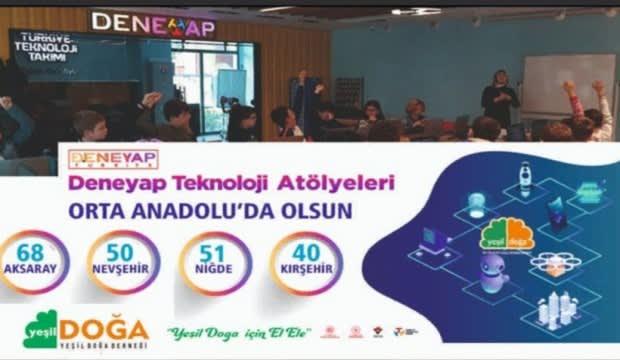 Aksaray'da büyük heyecan! Deneyap Teknoloji Atölyeleri kurulacak