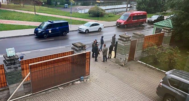 Belarus'taki Libya Büyükelçiliği binasına saldırı