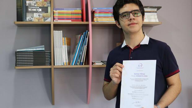 Siirtli öğrenci İsveç Kraliyet Mühendislik Bilimleri Akademisi ödülü kazandı