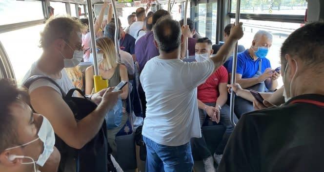 Toplu taşıma araçlarında manzara değişmedi
