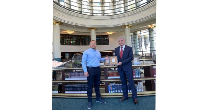 Cumhurbaşkanlığı Millet Kütüphanesi'ne nadide eser bağışı