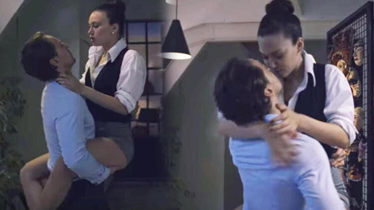 Melisa Şenolsun-Metin Akdülger'in bu sahnesi çok konuşuldu!