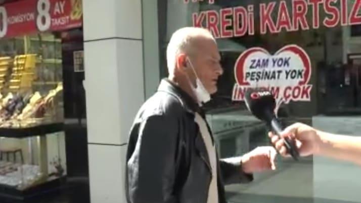İstanbul'da maske takmayan vatandaştan şaşırtan savunma: Bende kalp var sıkıntı veriyor