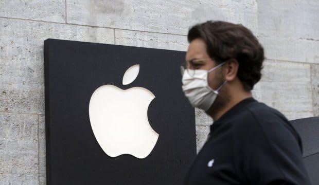 iPhone ve iPad tasarımcıları Apple çalışanlarına özel maske üretti