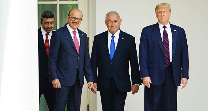 ABD Başkanı Trump: 'İsrail ile anlaşmaya 5-6 ülke daha katılabilir'