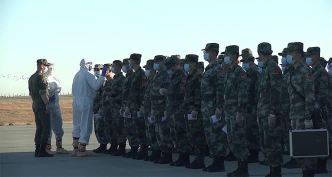 Kafkas 2020 tatbikatı; Çin ve Belarus birlikleri Rusya'ya ulaştı