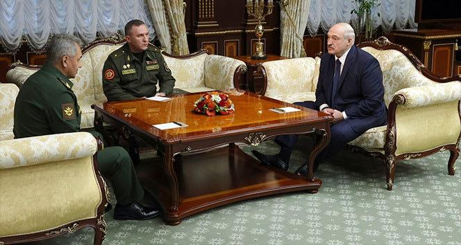 Lukaşenko: 'Putin'den yeni silahlar istedim'