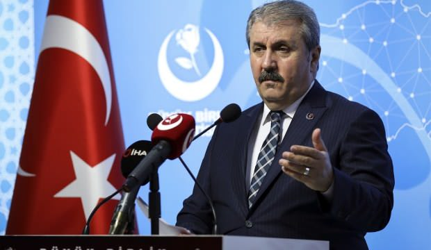 Mustafa Destici'den Doğu Akdeniz açıklaması