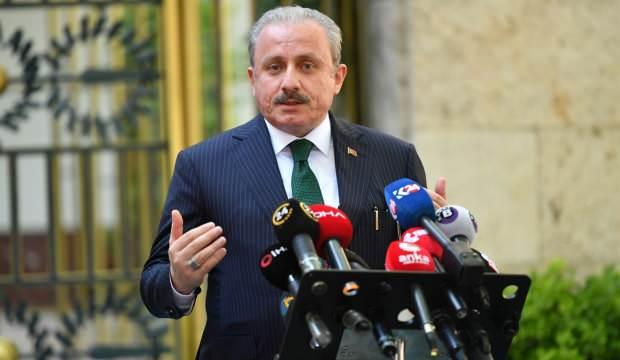 Meclis Başkanı Şentop'tan son dakika açıklamalar
