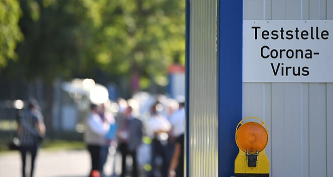 Bavyera'da 8 binden fazla öğrenci karantinada
