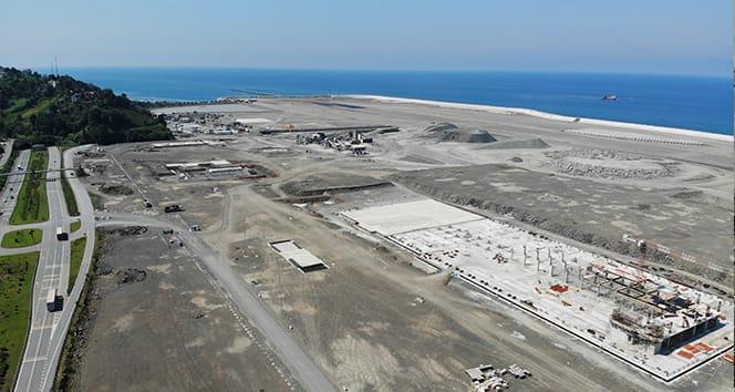 Bakan Adil Karaismailoğlu: 'Rize-Artvin Havalimanı'nın dolgu çalışmaları yıl sonuna kadar inşallah bitecek'