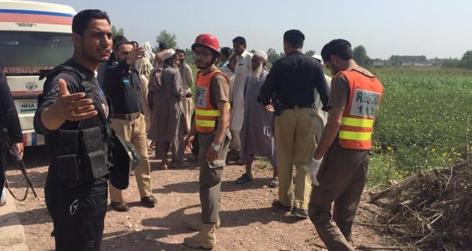 Pakistan'da patlama: 5 ölü 2 yaralı