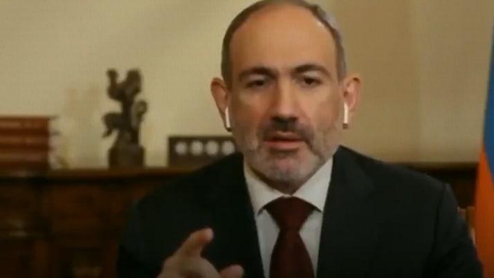 Ermenistan Başbakanı Nikol Paşinyan'ın BBC sunucusu karşısında zor anları