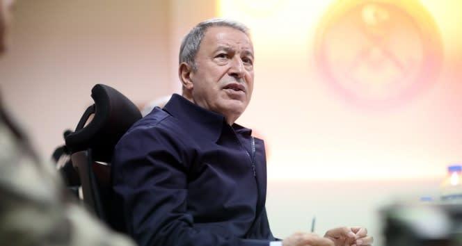 Bakan Akar: Ermenistan derhal saldırılarını durdurmalı, işgal ettikleri Azerbaycan topraklarını boşaltmalıdır'