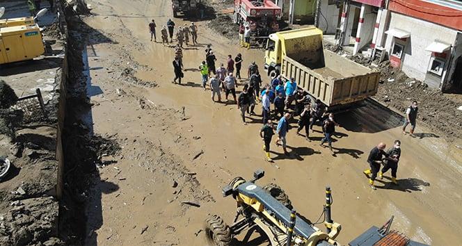 Giresun'daki sel felaketinin yaraları sarılmaya devam ediyor