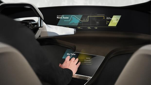 BMW'den sanal dokunmatik ekran konsepti!