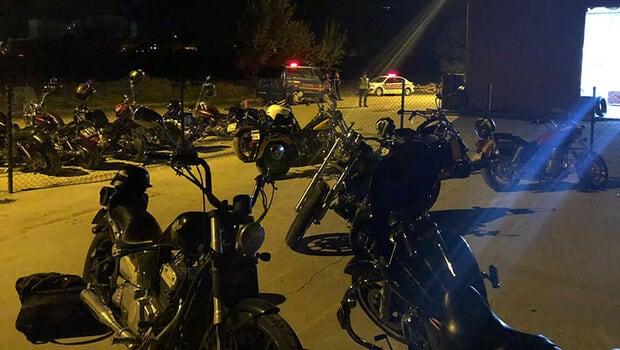 Motosiklet grubuna ceza yağdı