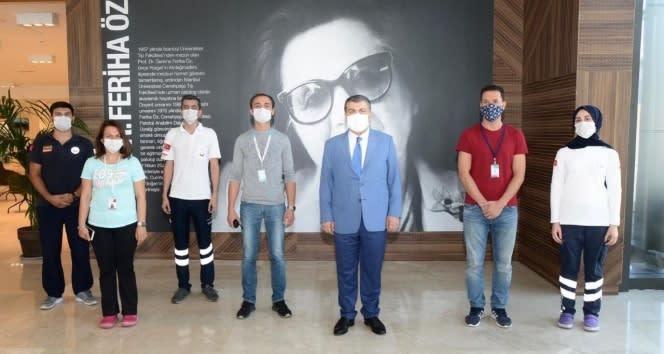 Sağlık Bakanı Koca, İstanbul'da acil durum hastanelerini ziyaret etti