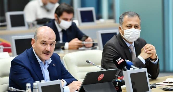 İçişleri Bakanı Soylu: 'İstanbul'da tüm toplanma alanlarında tatbikat yapacağız'