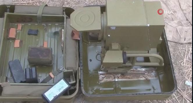 Azerbaycan ordusu Ermenistan'a ait askeri teçhizatları ele geçirdi